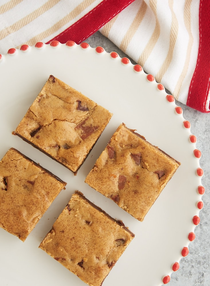 Double Chocolate Chunk Blondies - Bake or Break