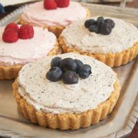 Homemade dessert doesn't get much easier than these Berry Fool Tarts. They're so cool and creamy, too! - Bake or Break