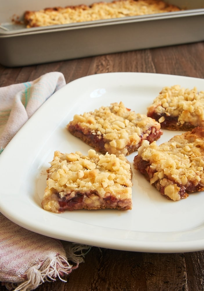 Strawberry Magic Bars