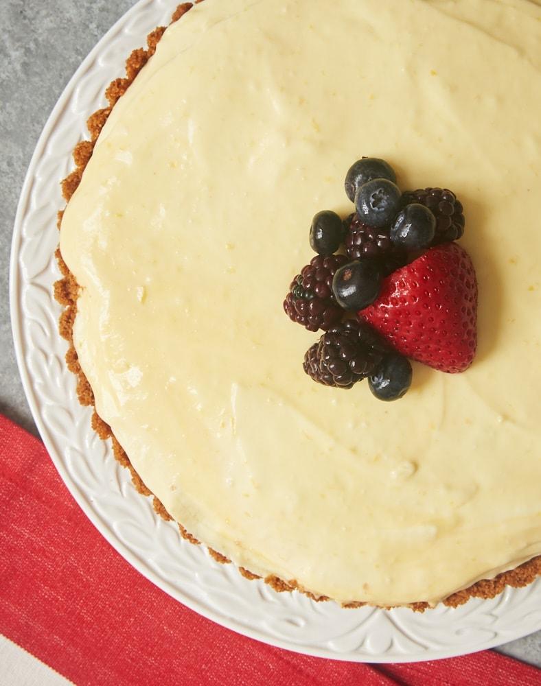 Lemon Cream Pie is bursting with plenty of tart lemon flavor. Lemon lovers will adore this quick and easy dessert! - Bake or Break