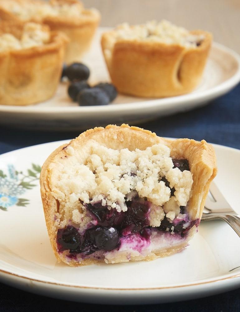 Mini Blueberry Cream Cheese Pies Bake Or Break