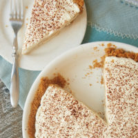 Butterscotch Pudding Cheesecake Pie