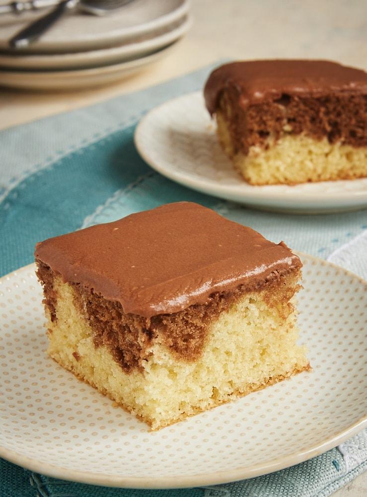 Chocolate Hazelnut Marble Cake