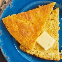 This quick and easy Sour Cream Corn Bread is a great companion to so many of your favorite dinners! - Bake or Break