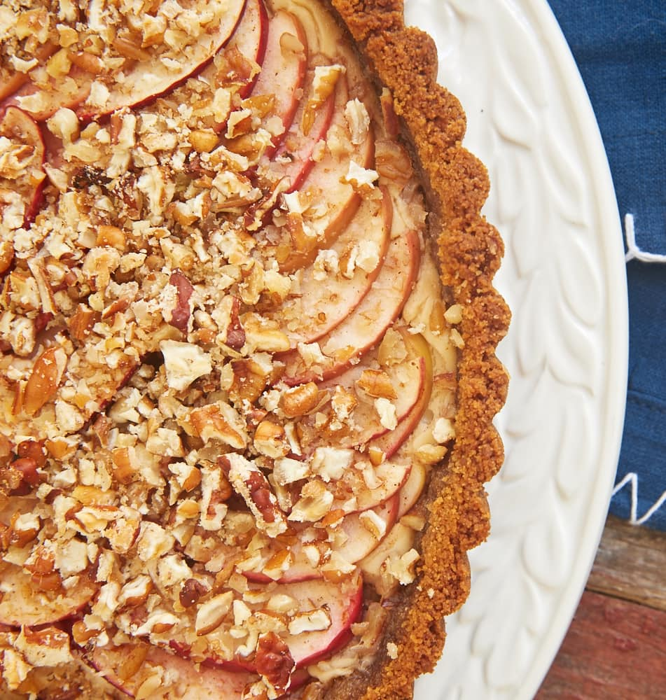 Apple Pecan Cream Cheese Tart