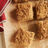 Sweet apples and rich caramel combine in this wonderfully delicious Caramel Apple Crumb Cake. Great for a snack or a simple dessert. - Bake or Break