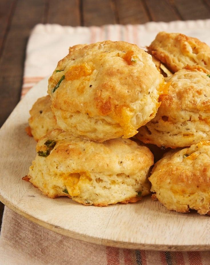 Jalapeño Cheddar Biscuits