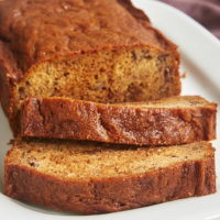 A little swirl of sweet, rich dulce de leche adds such wonderful flavor to this Dulce de Leche Banana Bread. - Bake or Break