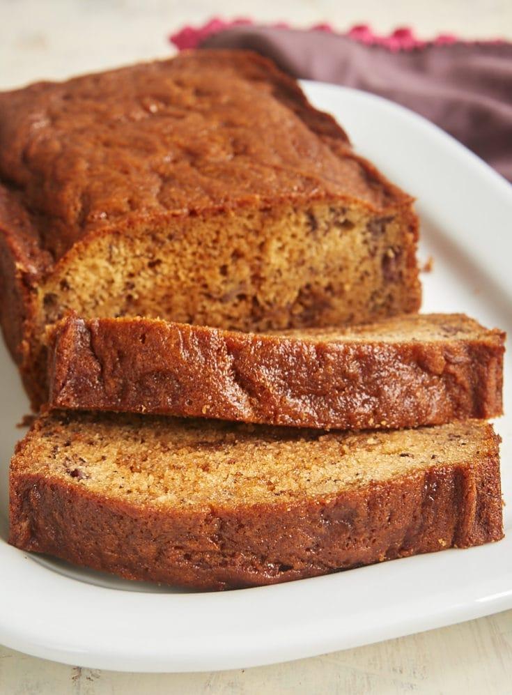 A little swirl of sweet, rich dulce de leche adds such wonderful flavor to this Dulce de Leche Banana Bread. - Bake or Break