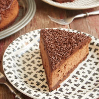 If you love chocolate in a big way, then this Brownie Bottom Chocolate Cheesecake is for you! Layers of brownie, double chocolate cheesecake, and dark chocolate ganache combine for an unforgettable chocolate experience! - Bake or Break