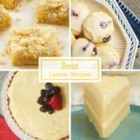 The best and most popular lemon recipes from Bake or Break