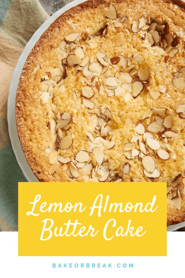 Lemon Almond Butter Cake bakeorbreak.com
