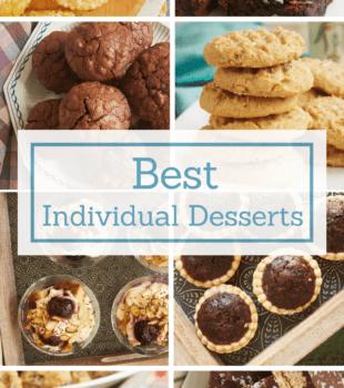 No serving, no mess! These individual desserts make serving dessert a breeze! - Bake or Break