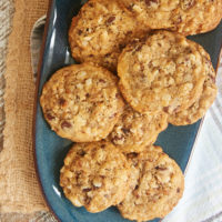 Chocolate Chip Date Nut Cookies