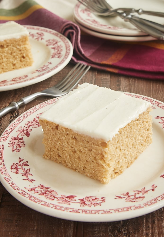 Spice Cake with Brown Butter Frosting
