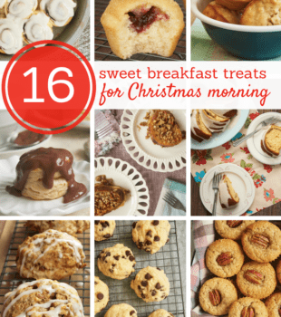 From muffins to cinnamon rolls, you are sure to find the perfect sweet breakfast treat for Christmas morning! - Bake or Break