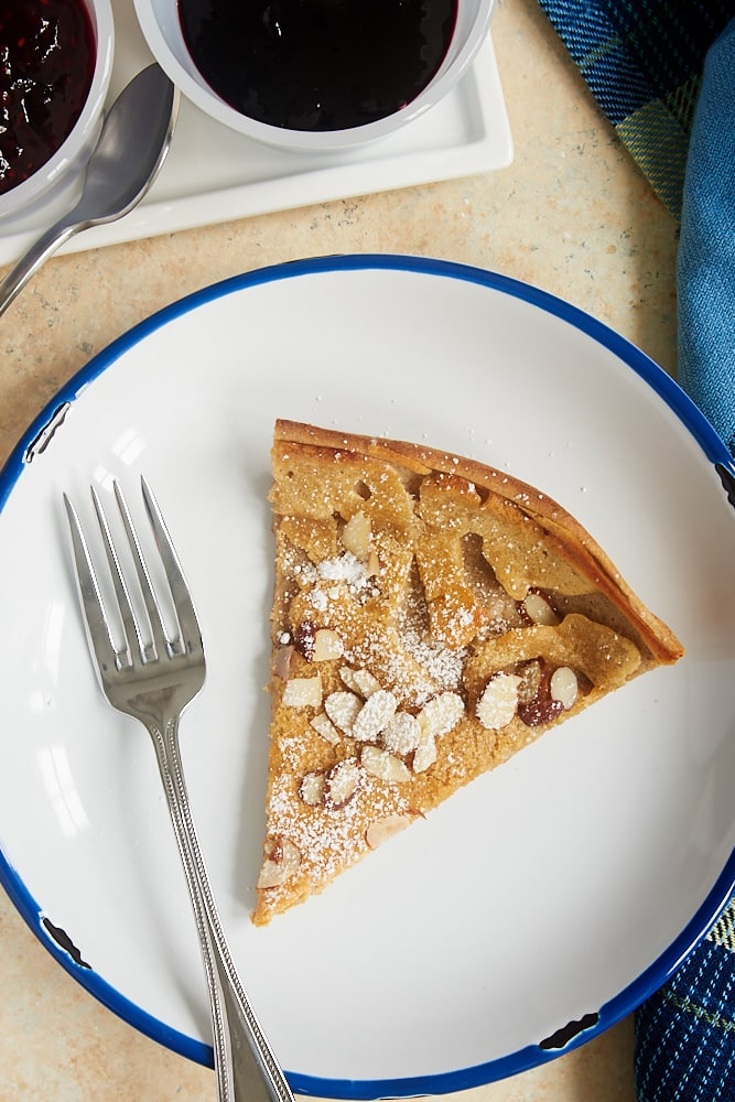 Cinnamon Almond Dutch Baby Pancake Recipe | Bake or Break