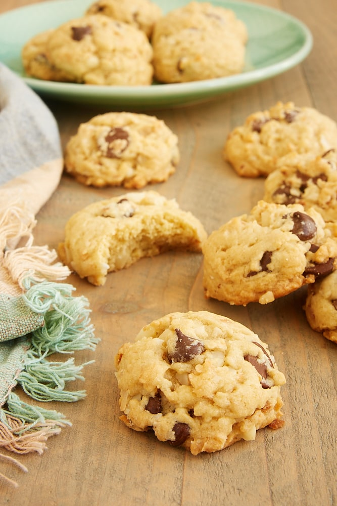 Chocolate Chip Macadamia Nut Coconut Cookie recipe