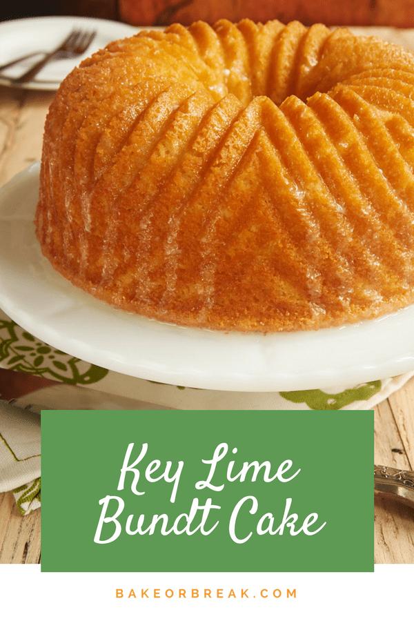 Key Lime Bundt Cake bakeorbreak.com