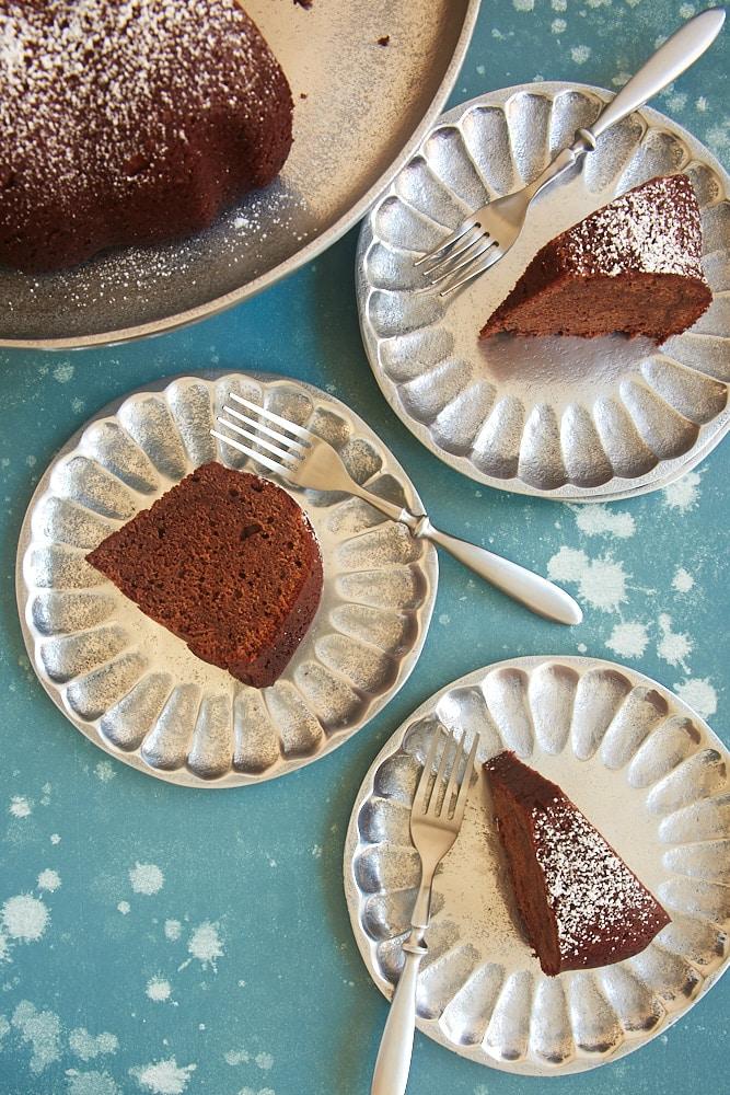 Buttermilk Mexican Chocolate Pound Cake Bake Or Break