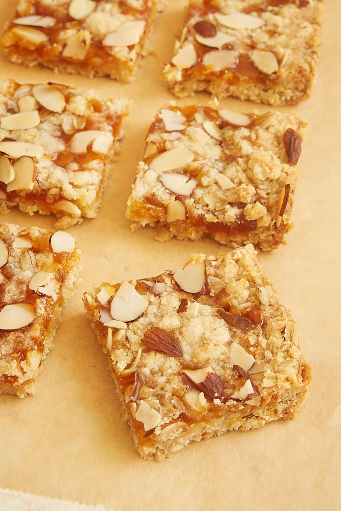 Apricot Almond Oat Bars from Bake or Break