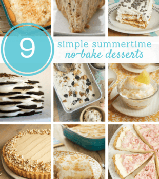 collection of no-bake dessert recipes