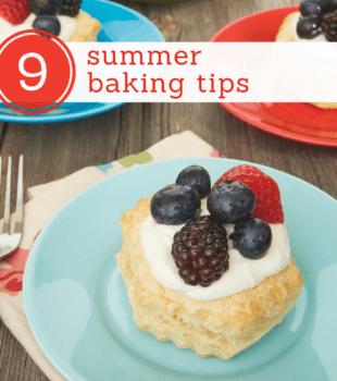 summer baking tips from Bake or Break