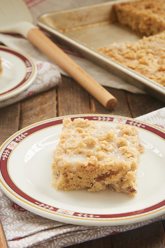 Apple Crumb Sheet Cake