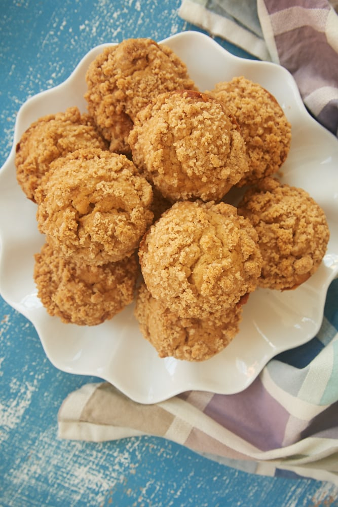 Cookie Butter Crumb Muffins