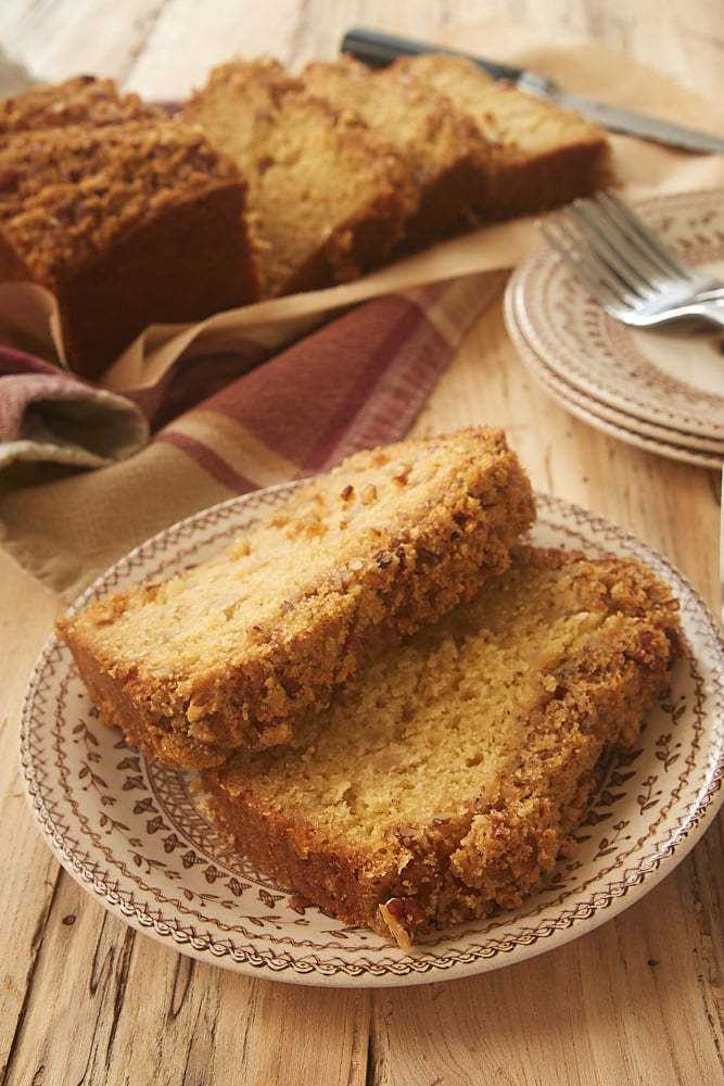 slices of Ginger Pear Bread