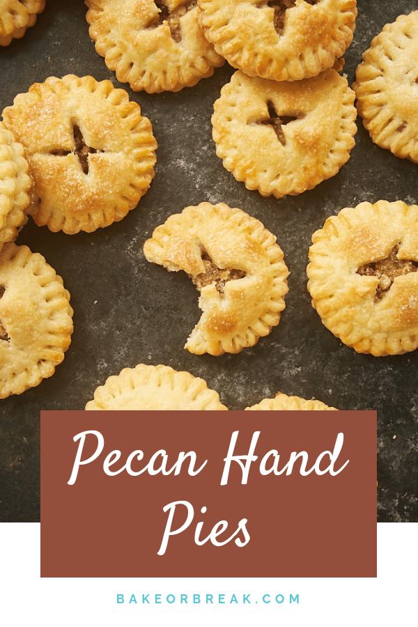 Pecan Hand Pies bakeorbreak.com