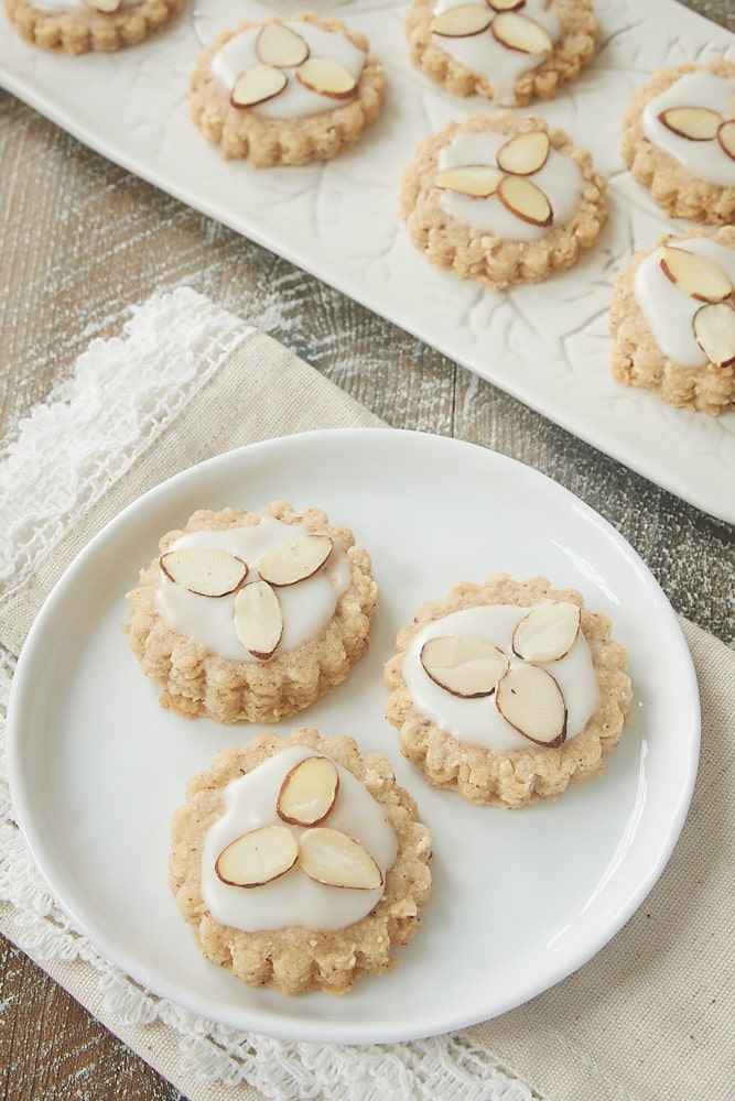 Almond Spice Cookies