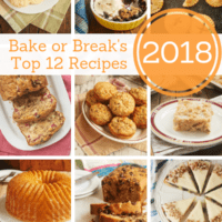 collection of Bake or Break's most popular recipes from 2018