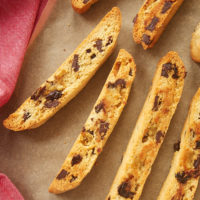 Cherry Chocolate Chip Biscotti