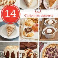 collection of favorite Christmas dessert recipes from Bake or Break
