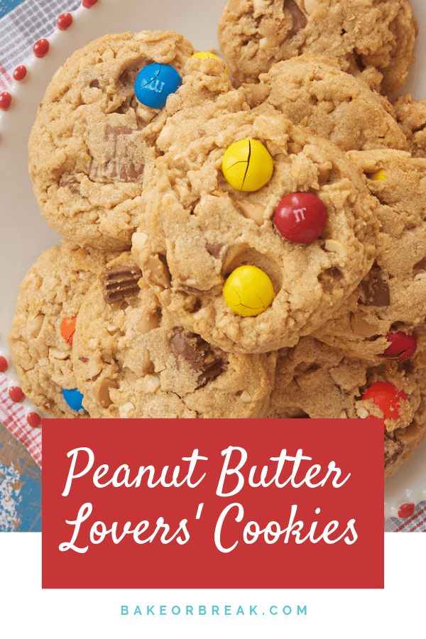 Peanut Butter Lovers' Cookies
