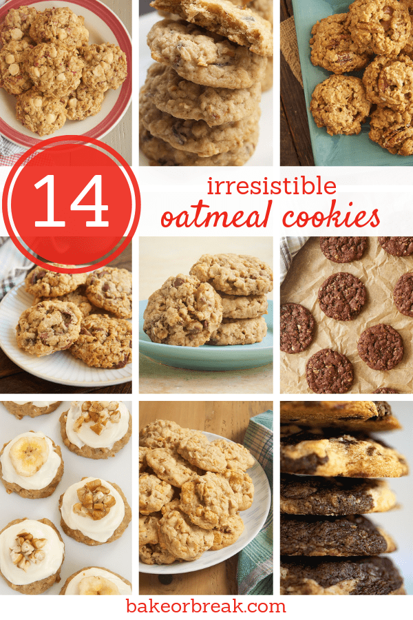 collection of oatmeal cookie recipes