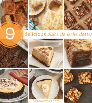 collection of dulce de leche dessert recipes
