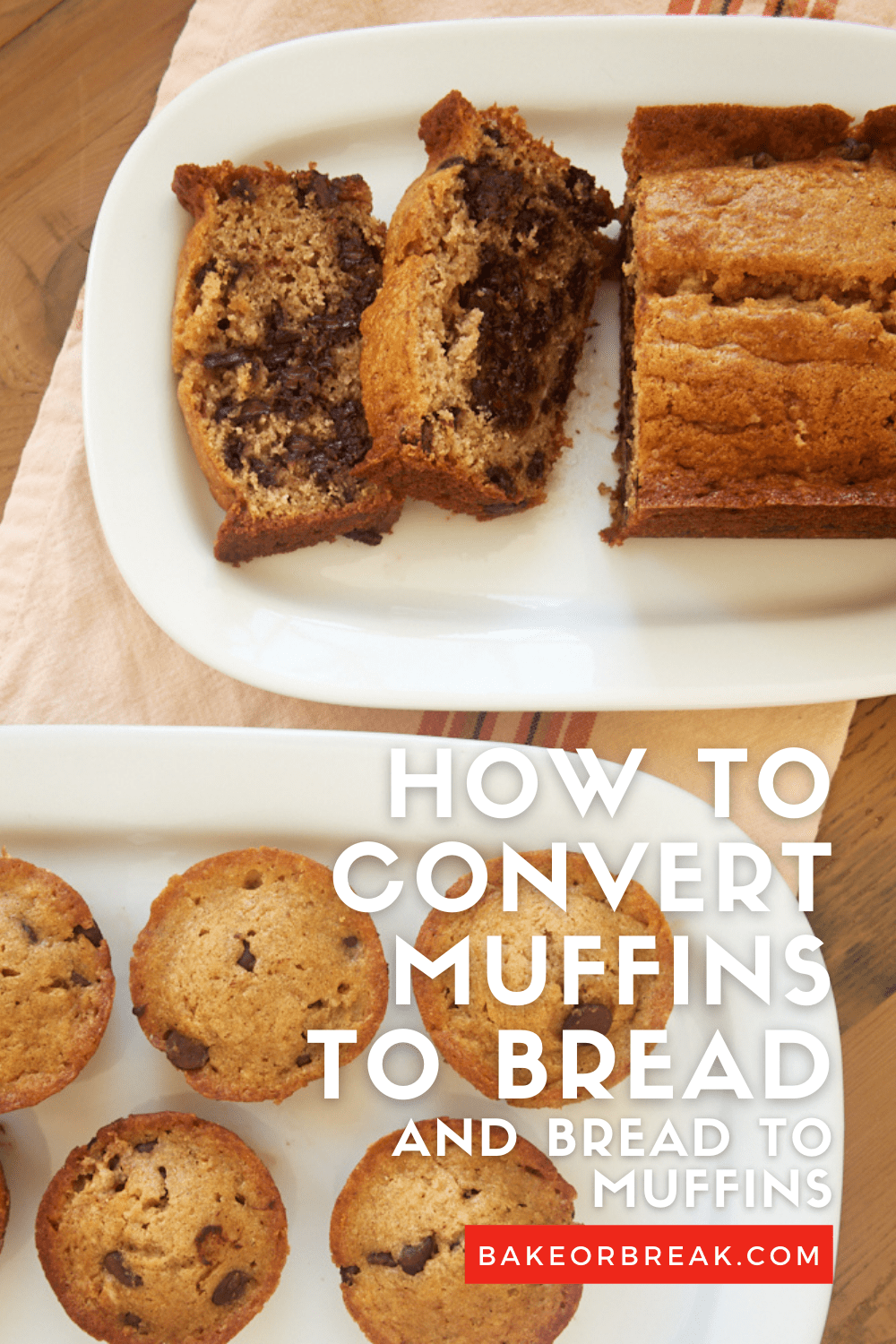 How to Convert Muffins to Bread and Bread to Muffins bakeorbreak.com