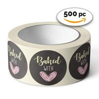 Baked with Love Stickers (500-Count)