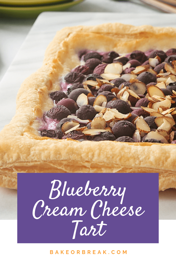 Blueberry Cream Cheese Tart | Bake or Break