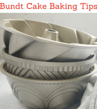 Bundt Cake Baking Tips