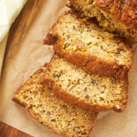 slices of Pineapple Zucchini Bread