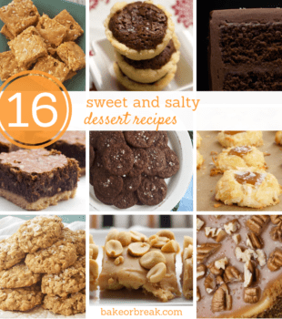 16 Sweet and Salty Dessert Recipes