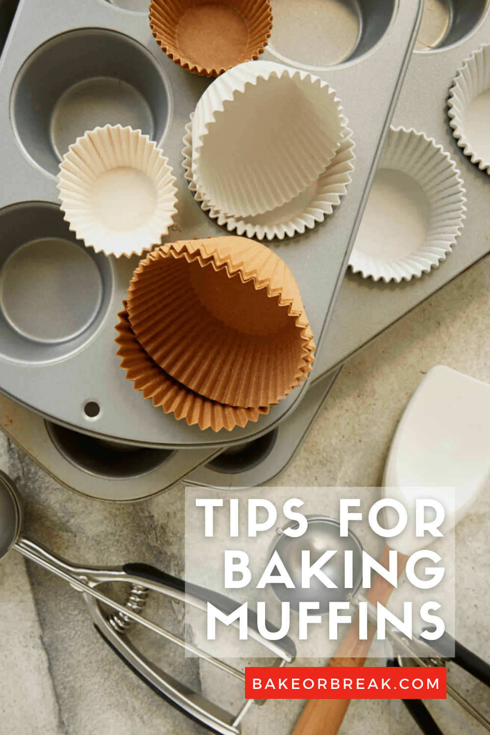 Tips for Baking Muffins bakeorbreak.com