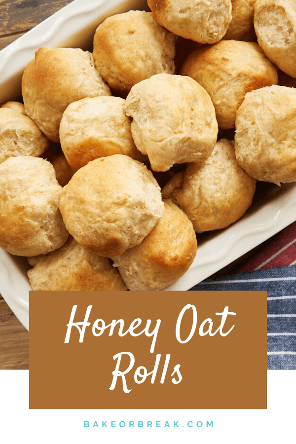Honey Oat Rolls