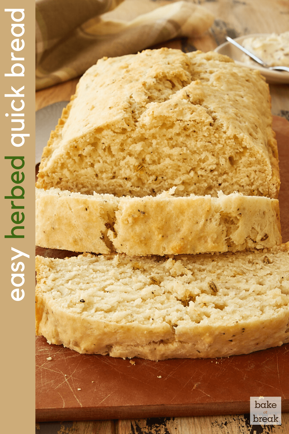 Easy Herbed Quick Bread
