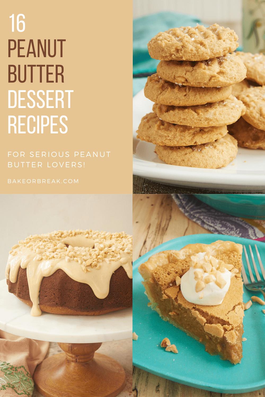 16 Peanut Butter Dessert Recipes