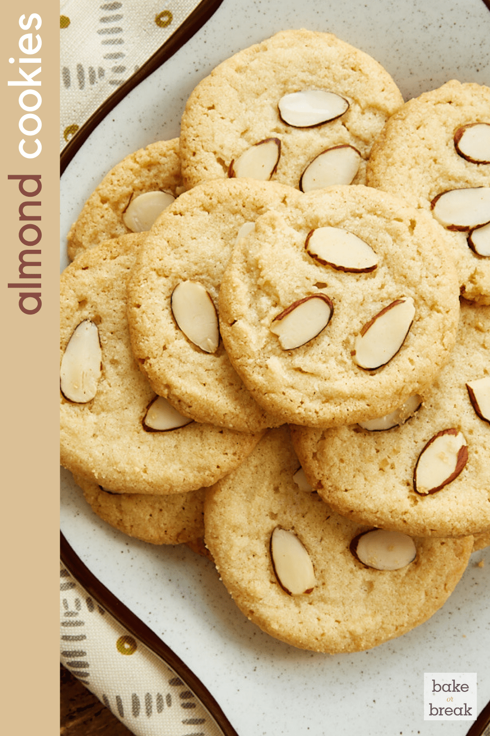 Almond Cookies Bake or Break