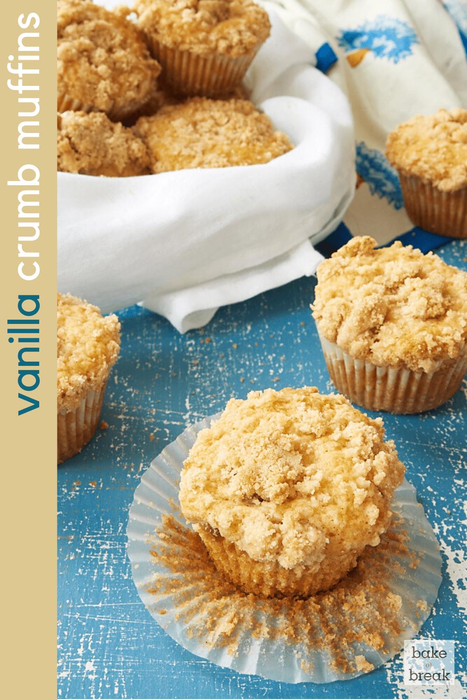 Vanilla Crumb Muffins